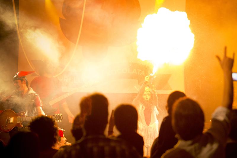"""Estrena """"Avui fem Rock"""" Temporada Alta 2014"""